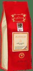 Caffellini Platinum certifikovaná zrnková káva (1kg)