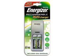 Energizer Mini nabíjačka + 2xAA Power Plus 2000 mAh batérie