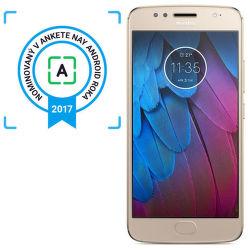 Motorola Moto G5s zlatý