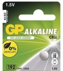 GP LR41 1KS gombíková batéria