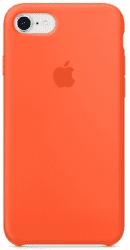 Apple silikónový kryt pre iPhone 8 a 7, jasne oranžový