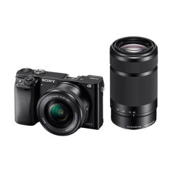 Sony Alpha 6000 čierny + 16-50mm + 55-210mm