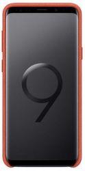 Samsung Alcantara puzdro pre Samsung Galaxy S9, červená