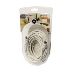 DPM BLF16 anténny kábel 10 m biely