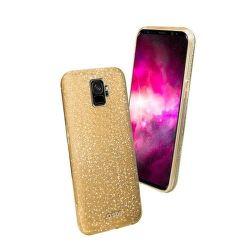 SBS Sparky Glitter puzdro pre Samsung Galaxy S9, zlatá