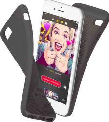 SBS Polo puzdro pre iPhone 8+/7+, čierna
