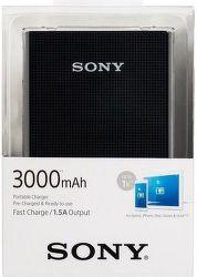 Sony CP-E3B2 powerbanka 3000 mAh, čierna