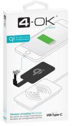 4-OK USB-C prijímač pre bezdrôtové nabíjanie