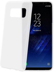 Celly Frost puzdro pre Samsung Galaxy S8, biela
