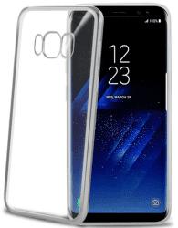 Celly Laser puzdro pre Samsung Galaxy S8, strieborná