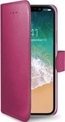 Celly Wally knižkové puzdro pre iPhone X, ružová