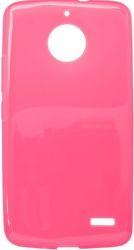 Mobilnet gumené puzdro pre Motorola Moto E4, ružové