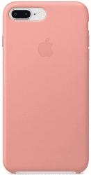Apple kožený kryt pre iPhone 8 Plus a 7 Plus, bledo ružový