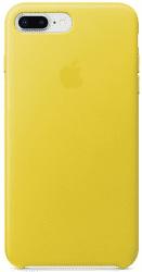 Apple kožený kryt pre iPhone 8 Plus a 7 Plus, jarno žltý