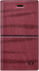 Mobilnet Luxury knižkové puzdro pre Galaxy A3 2017, červené