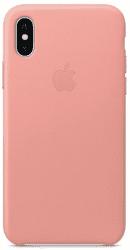 Apple kožený kryt pre iPhone X, bledo ružový