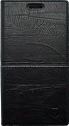 Mobilnet Luxury knižkové puzdro pre iPhone 7, čierne