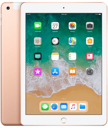 Apple iPad 2018 128GB WiFi Cell zlatý