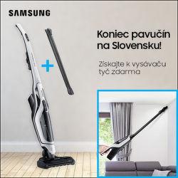 Darček k tyčovým vysávačom Samsung