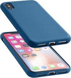 Cellularline Sensation pre iPhone X, modrá