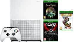 Microsoft Xbox One S 1TB Sea of Thieves + Gears Of War Ultimate Edition + Rare Replay