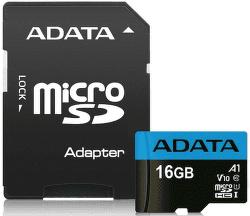 ADATA Premier microSDHC 16GB UHS-I U1 + adaptér