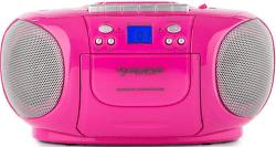 Auna BoomGirl Boom Box ružový