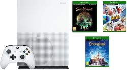 Microsoft Xbox One S 1TB Sea of Thieves +Disneyland Adventures +Rush: A Disney Pixar Adventure