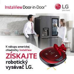 Robotický vysávač ako darček k americkým chladničkám LG