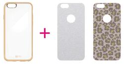 4-OK Elektra II puzdro pre Apple iPhone 6/6S, zlatá