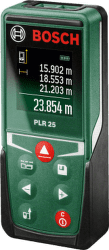 Bosch PLR 25 Laserový diaľkomer