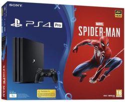 Sony PlayStation 4 Pro 1TB + Spider-Man