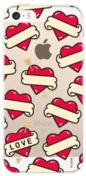 Flavr iPlate puzdro pre iPhone 5/5S/SE, Srdcia