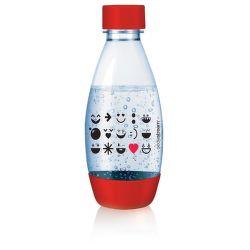 Sodastream Smile Red detská náhradná fľaša (500ml)