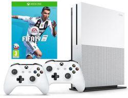 Microsoft Xbox One S 1TB + bezdrôtový ovládač + FIFA 19