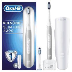 Oral-B Pulsonic Slim Luxe 4200 Platinum