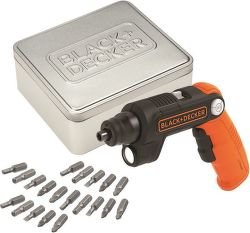 Black&Decker BDCSFL20AT, AKU 3,6V/1,5AH