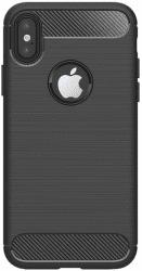 Winner Carbon puzdro pre Apple iPhone Xs Max, čierna