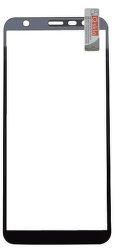 Qsklo Full Cover 2D ochranné sklo pre Samsung Galaxy J6+, čierna