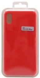 Mobilnet silikónové puzdro pre Apple iPhone Xs Max, červená