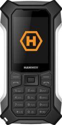 MyPhone Hammer Patriot strieborný