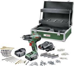 Bosch PSR 1440 Li-2 2 AKU + 241 ks Toolbox 2x 14,4V/1,5AH