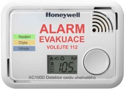 Honeywell XC100D-CSSK-A, detektor oxidu uhoľnatého