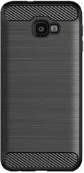 Winner Carbon puzdro pre Samsung Galaxy J4+ 2018, čierna