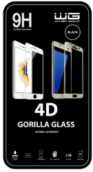 Winner 4D ochranné tvrdené sklo Huawei Y6 (2019)/Huawei Y6S/Honor 8A, čierna