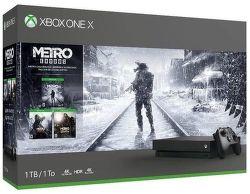 Microsoft Xbox One X 1 TB + Metro Trilogy