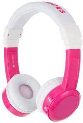 BuddyPhones InFlight ružové