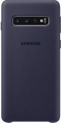 Samsung silikónové puzdro pre Samsung Galaxy S10, tmavomodrá