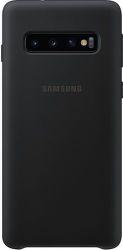 Samsung silikónové puzdro pre Samsung Galaxy S10, čierna