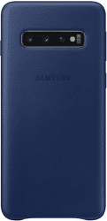 Samsung Leather Cover pre Samsung Galaxy S10, tmavomodrá